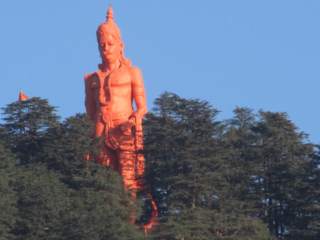 108 feet Hanuman Idol, Jakhu Temple, Shimla, India