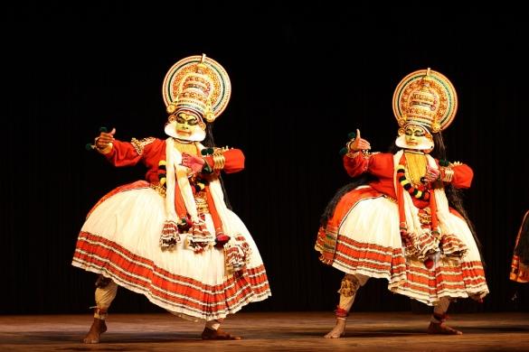 kerala Kathakali dance(img by Shanmugam)